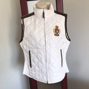 White Polo Vest